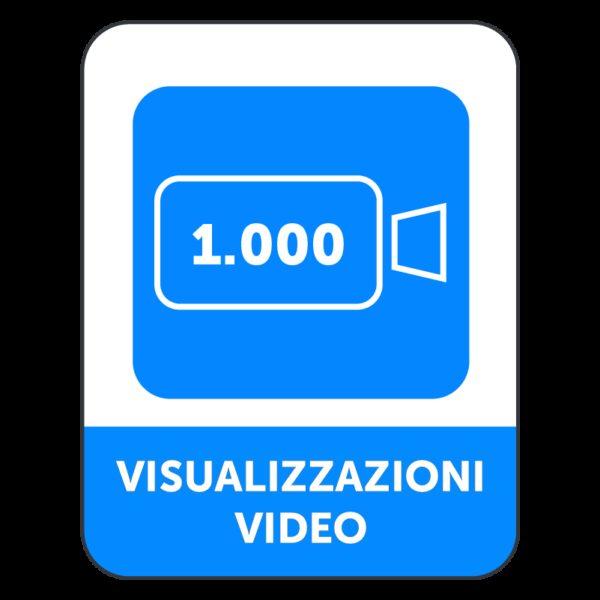 1000 VISUALIZZAZIONI VIDEO FACEBOOK