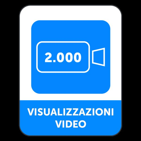 2000 VISUALIZZAZIONI VIDEO FACEBOOK