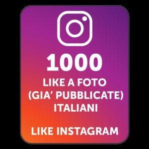 1000 LIKES INSTAGRAM ITALIANI