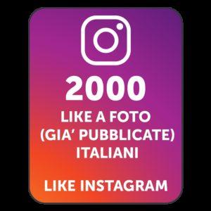 2000 LIKES INSTAGRAM ITALIANI