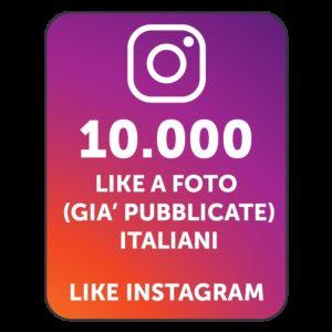 10.000 LIKES INSTAGRAM ITALIANI