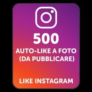 500 AUTOLIKE INSTAGRAM