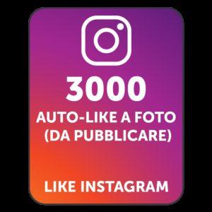3000 AUTOLIKE INSTAGRAM