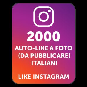 2000 AUTOLIKE INSTAGRAM ITALIANI