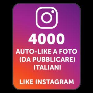 4000 AUTOLIKE INSTAGRAM ITALIANI