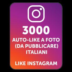 3000 AUTOLIKE INSTAGRAM ITALIANI