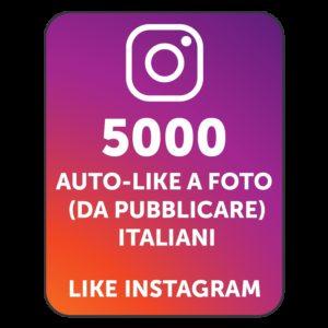 5000 AUTOLIKE INSTAGRAM ITALIANI