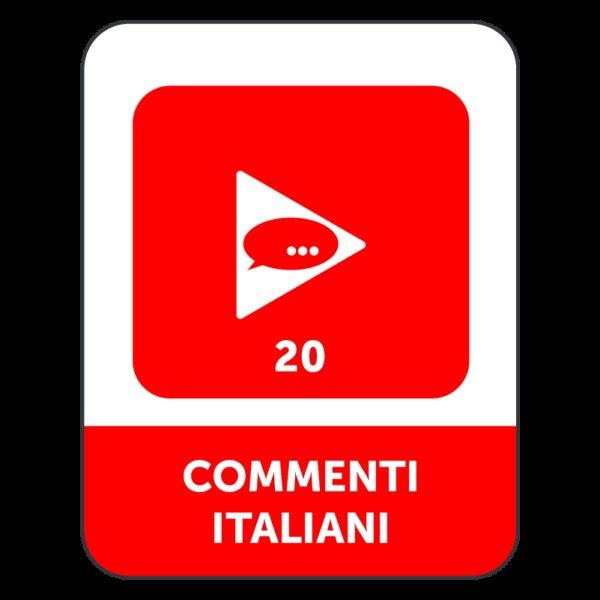20 COMMENTI ITALIANI YOUTUBE
