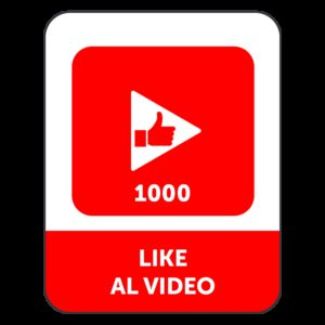 1000 LIKE VIDEO YOUTUBE