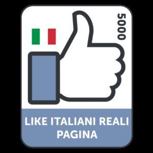 5000 LIKES ITALIANI