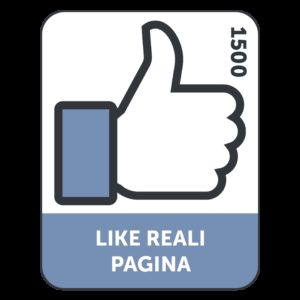 1500 LIKES/FOLLOWERS REALI