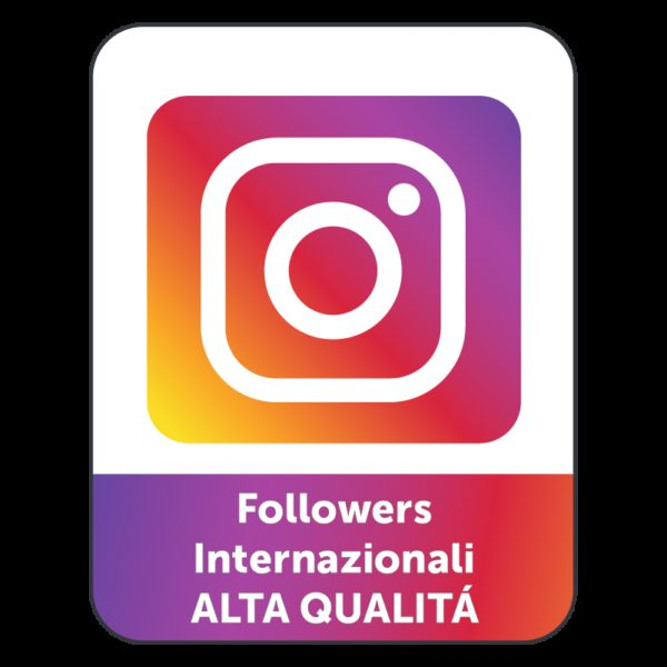 10.000 FOLLOWERS INSTAGRAM INTERNAZIONALI (ALTA QUALITÁ)