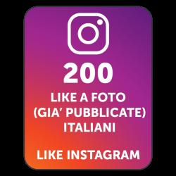 200 AUTOLIKE INSTAGRAM ITALIANI