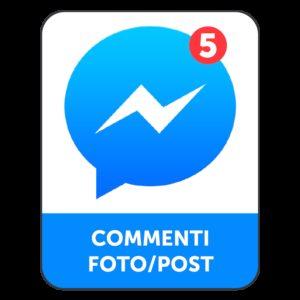 5 COMMENTI FACEBOOK