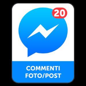 20 COMMENTI FACEBOOK