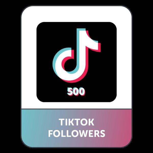 500 Followers TIK TOK