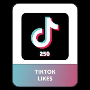 250 Likes/Cuori TIK TOK