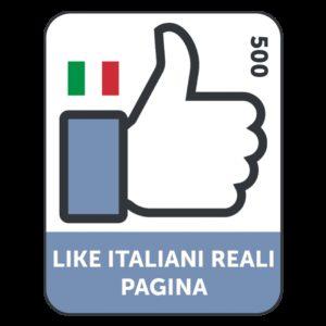 500 LIKES ITALIANI