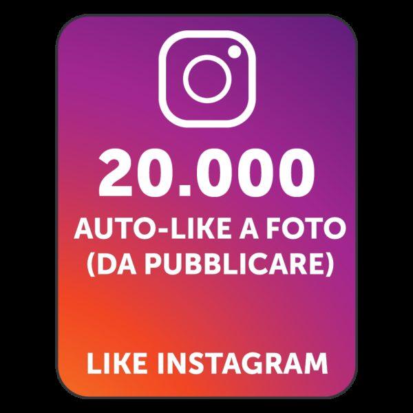 20.000 AUTOLIKE INSTAGRAM