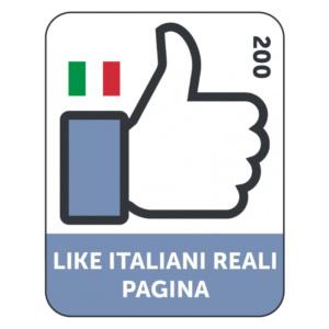 200 LIKES ITALIANI