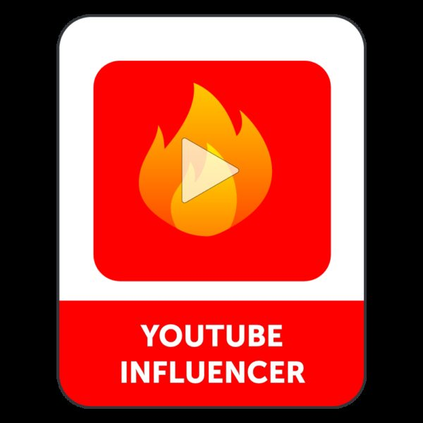 YOUTUBE INFLUENCER PACK