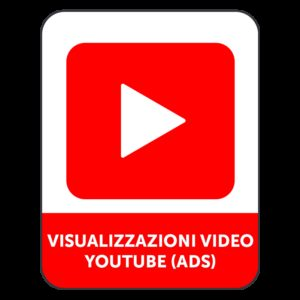 VISUALIZZAZIONI VIDEO YOUTUBE (ADS)