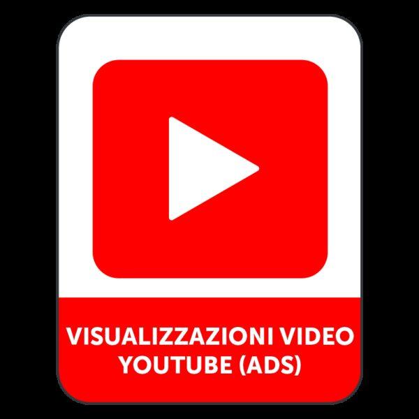 VISUALIZZAZIONI VIDEO YOUTUBE (ADS)