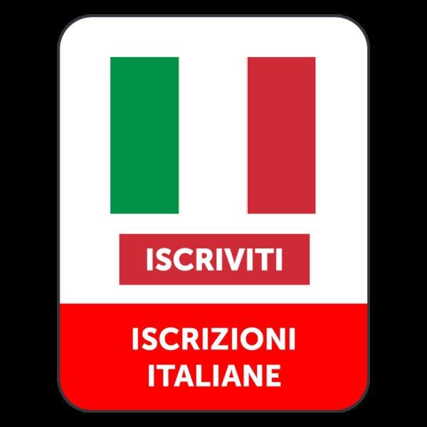 ISCRIZIONI ITALIANE CANALE YOUTUBE