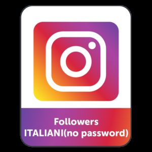 250-5.000 FOLLOWERS INSTAGRAM ITALIANI