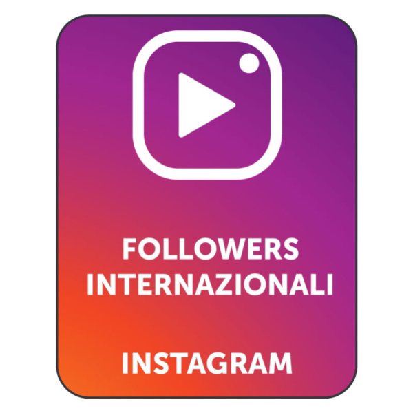 acquistare followers instagram internazionali