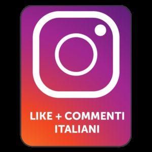 LIKES + COMMENTI INSTAGRAM ITALIANI