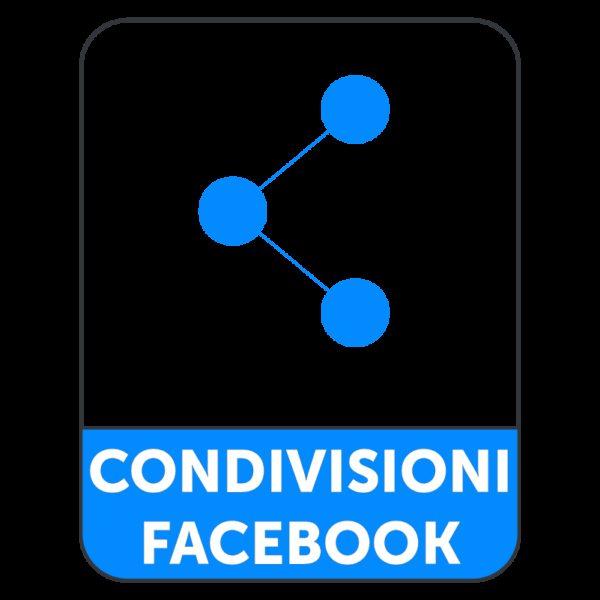 CONDIVISIONI FACEBOOK